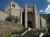Steps up to the Skanderbeg Museum