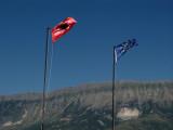 Flags over Gjirokastra