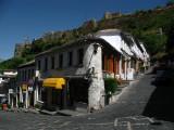 Central Gjirokastra off the old bazaar