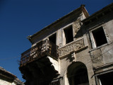 Crumbling old house in the old town