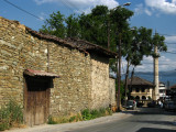Old rock walls of a house up from the Šarena Djamija