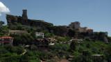 Kruja castle from afar
