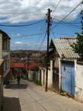 Neighborhood street on Velania hill