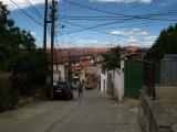 Descending into the city