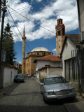 Tatty lane leading to the Sultan Mehmit Fatih Mosque