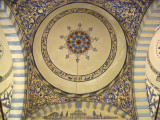 Ceiling within the Jashar Pasha Mosque