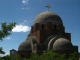 Dome of the unfinished Orthodox cathedral