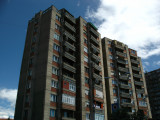 Tower blocks on Agim Ramadani