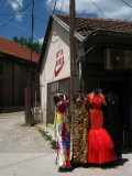 Dresses for sale at the bazaar
