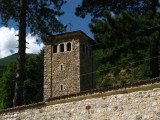 Watch tower at Patrijaršija Monastery