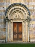 Front gate into Visoki Dečani Monastery