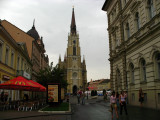 Catholic Cathedral from Jevrejska ulica