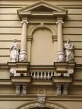 Facade on Trg Slobode