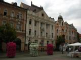 Row of fine facades, Trg Slobode