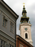 Bell tower of Orthodox Church of St. George