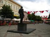Statue of Jovan Jovanović Zmaj on Zmaj Jovina