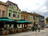 Facades along Dunavska ulica