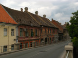 Crossing into the Petrovaradin district