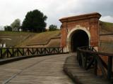 Entering Petrovaradin Citadel
