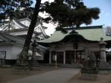Main courtyard of Tatsuki-jinja