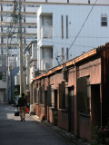 Backstreet in the Nagono quarter