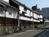 Historic storehouses in Shikemichi