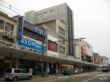 Eki-mae-densha-dōri in Fukui's main shopping strip
