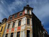 Facade of the Art Nouveau building