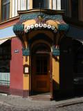 Art Nouveau entryway
