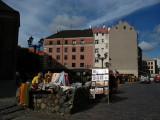 Small souvenir market on Skārņu iela