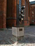 Bronze sculpture of Bremen's town musicians