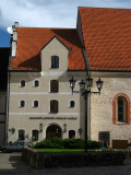 Streetlamps and Old Rīga facades