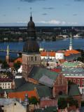 Dome Cathedral and the Daugava River