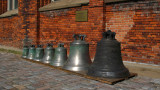 Bronze bells in the cloisters