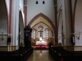 Interior of St. Jacob's Cathedral