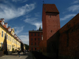 Tower and old city walls