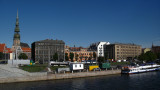Old Rīga viewed from the Akmens Bridge