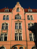 Elegant facade on Gertrūdes iela