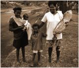 Family in Rabaul