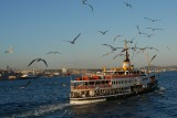 boats of istanbul between two continents