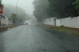 A foggy day, in Joburg town