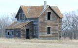 ...farm house on Hwy #13 in Saskatchewan...