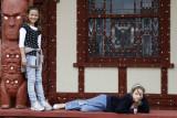 Rotorua with Chantelle and girls - 2009