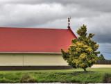 Maori Whare on Lake Rotoiti