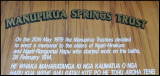 Manupirua Springs