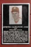 The Steve Carlton Plaque