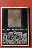 The Richie Ashburn Plaque