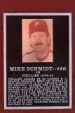 The Mike Schmidt Plaque
