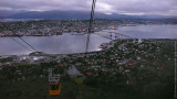 Tromso Panorama from the Cable Car Window