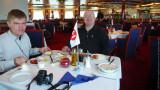 Breakfast on Coastal Ferry